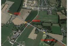 Route barrée : Création d'un giratoire sur la RD27