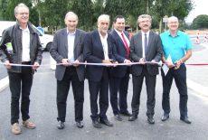 Inauguration du Giratoire sur la RD27