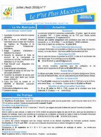 Le P'tit Plus n°7 juillet/août 2016