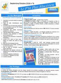 Le P'tit Plus n°9 sept/oct 16