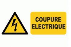 Informations : Coupures d'électricité