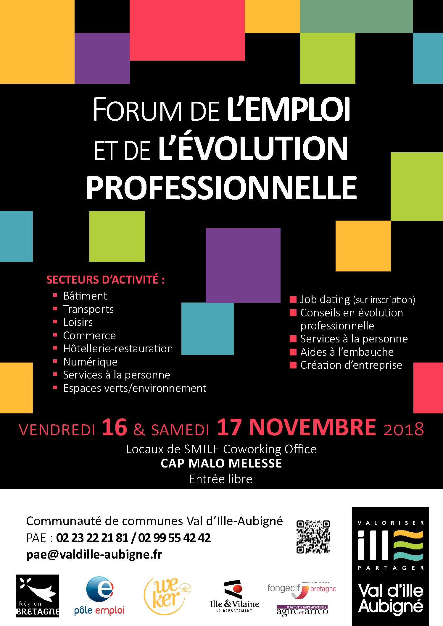 Forum de l'Emploi et de l'Evolution professionnelle