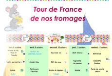 Semaine du goût «Tour de France des fromages»