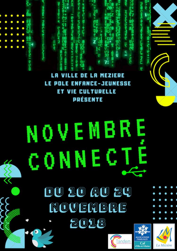 Novembre connecté : conférence «Les enfants et les écrans