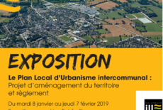 Plan Local d'Urbanisme Intercommunal – Réunion publique le 28 janvier 18H30