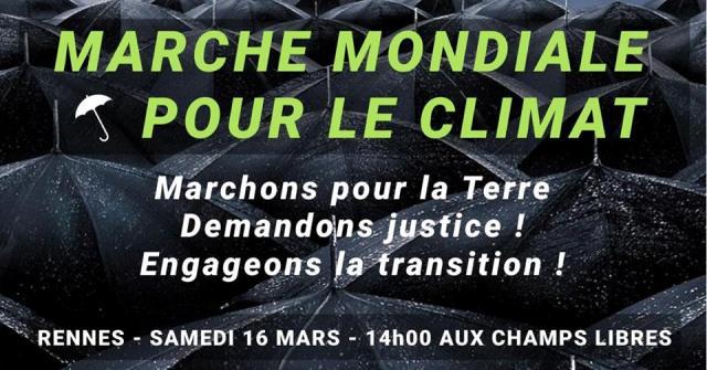 Covoiturage – Marche pour le climat Rennes