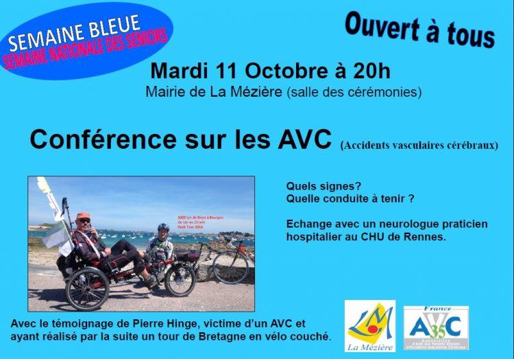 Semaine bleue : conférence et échanges sur les AVC