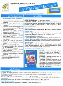 Le P'tit Plus n°9 sept/oct 16