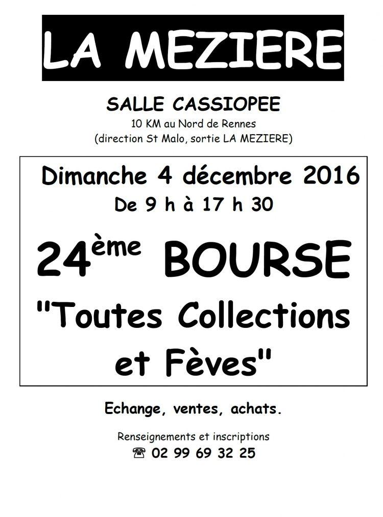 24ème bourse «toutes collections et fèves»