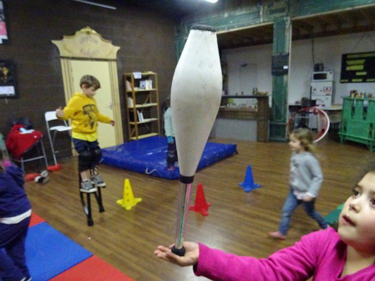 Stage découverte : Les arts du cirque