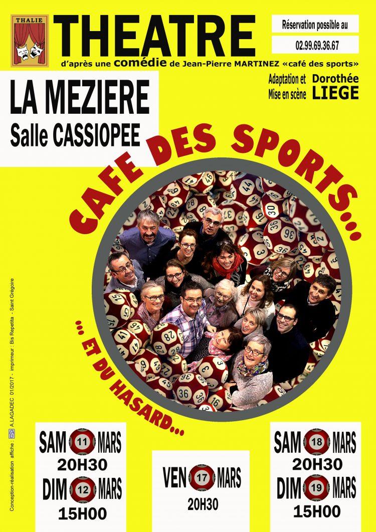 Théâtre : Café des sports