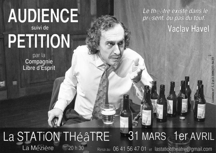 Spectacle à La Station Théâtre