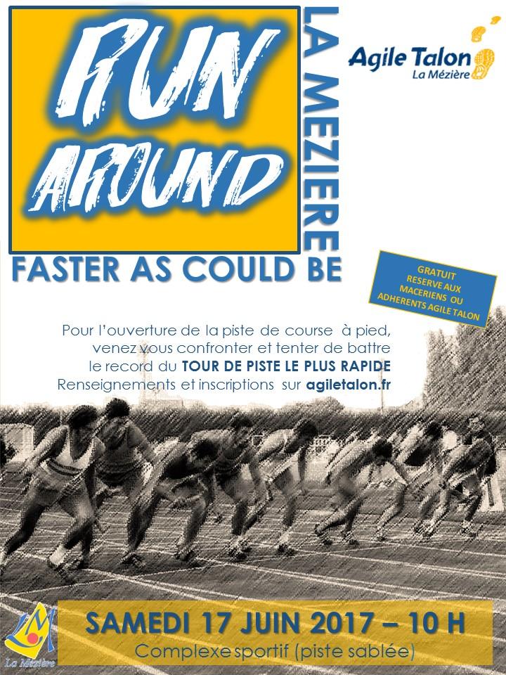 Challenge – Run Around at La Mézière