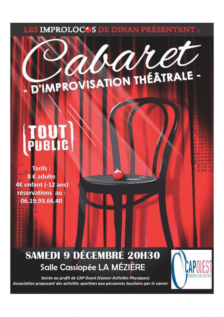 Cabaret d'improvisation théâtrale