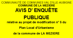 Modification N°5 du PLU
