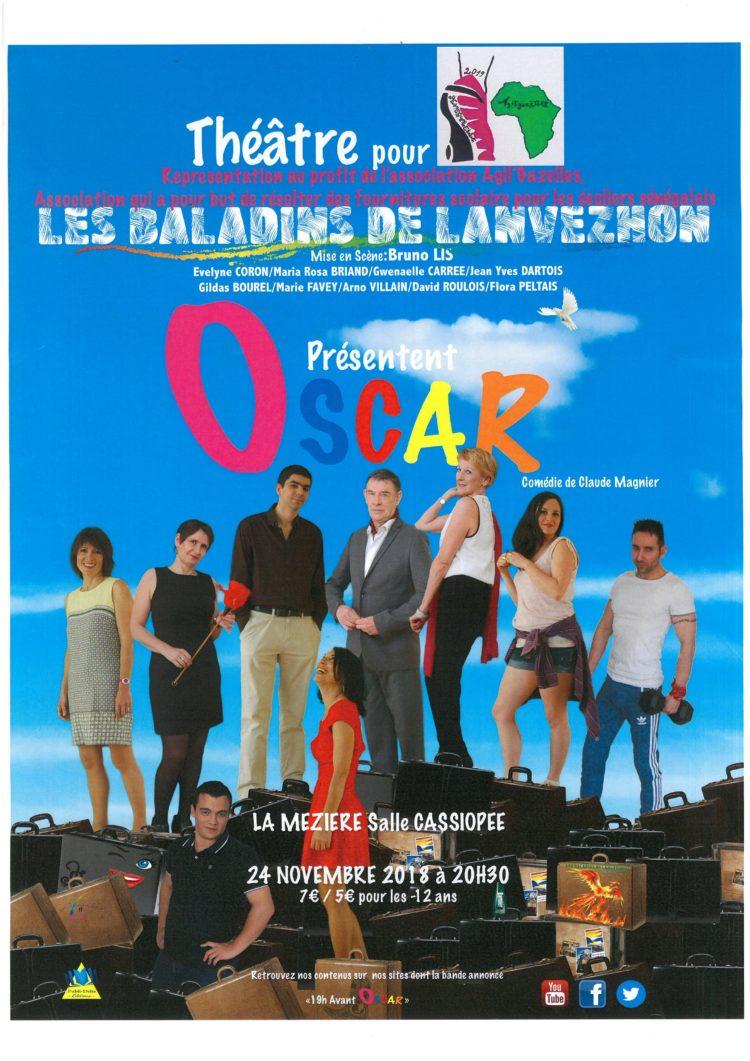 Spectacle «Oscar», une comédie de Claude Magnier