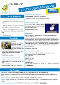 Le P'tit Plus n°37 – Mai 2019