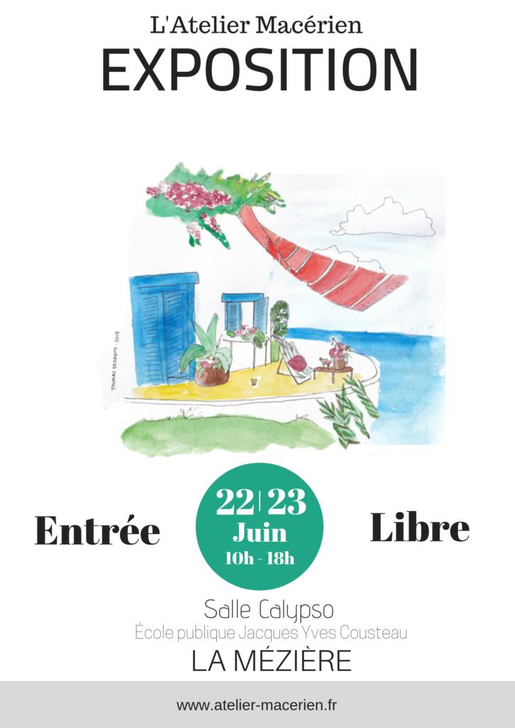 Exposition – l'Atelier Macérien