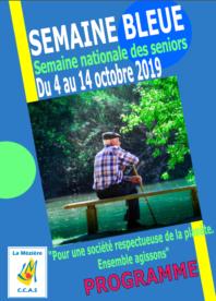 Programme Semaine Bleue 2019