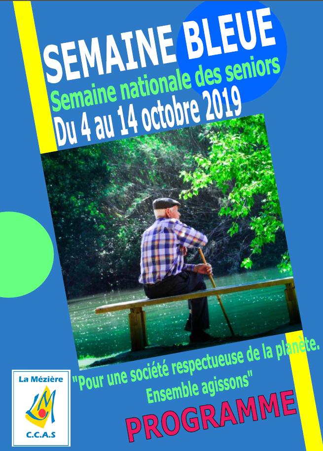 Semaine Bleue 2019 – Semaine nationale des seniors