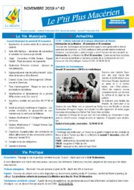 Le P'tit Plus n°42 – Novembre 2019