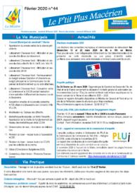 Le P'tit Plus n°44 – Février 2020