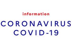 INFO COVID 19 – LES DISPOSITIFS MIS EN PLACE