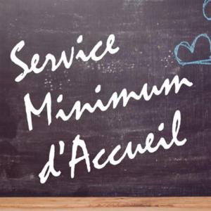 Personnel médical – Service minimum d'accueil des enfants
