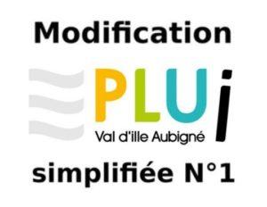 PLUi – modification simplifiée n°1