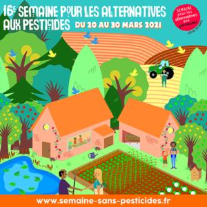 Biodiversité – 16ème Semaine Pour les Alternatives aux Pesticides