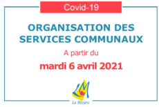 COVID 19 – Informations sur les services communaux