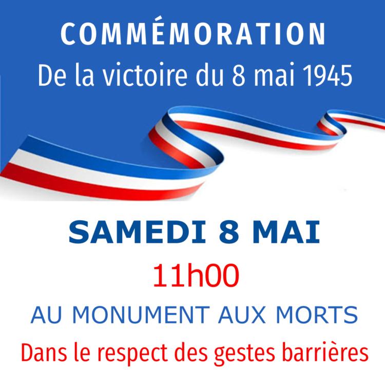 Commémoration – 8 mai 1945