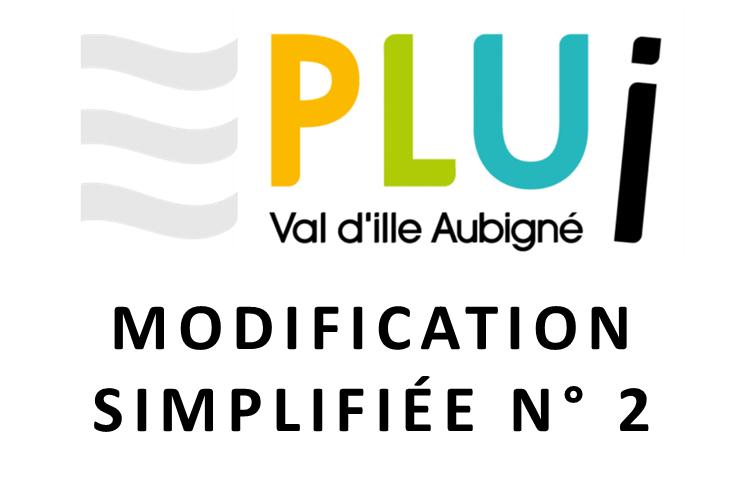 PLUi – modification simplifiée n°2